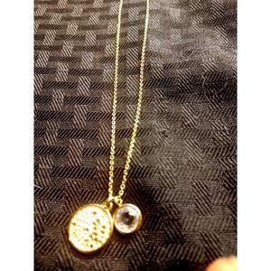 Michael Kors Gold Tone Necklace